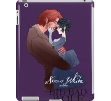 Snow White and the Big Bad Wolf iPad Case/Skin