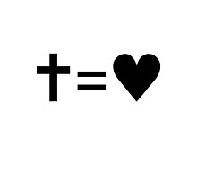 Cross Equals Heart by Cilionelle
