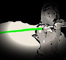 The Walking Dead. Jedi master Michonne. by jah tana