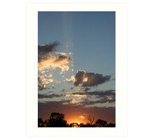 Mannum Sunrise Art Print