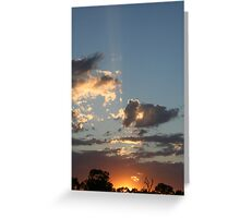 Mannum Sunrise Greeting Card