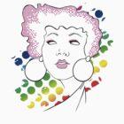Disco girl -pink by Kitzekatze