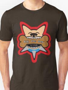 Biff the Dog Big Bone Inu Color Design Unisex T-Shirt