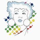 Disco girl -blue by Kitzekatze