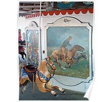 Watch Hill Carousel - Brown Horse Poster