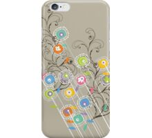 My Groovy Flower Garden Grows iPhone Case/Skin