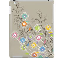 My Groovy Flower Garden Grows iPad Case/Skin