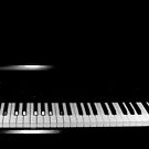 Blacked out Piano by shakey123