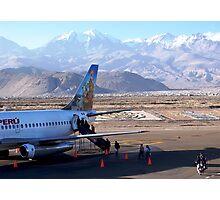 Volcanic departure! Photographic Print