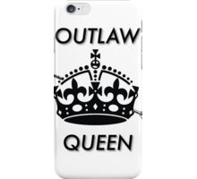OutlawQueen Merchandise iPhone Case/Skin