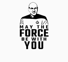 "Jean Luc Picard - ""May The Force Be With You"" T-Shirt"
