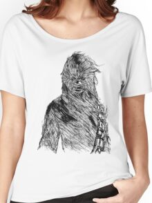 Chewy Art Women's Relaxed Fit T-Shirt
