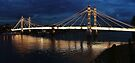 Albert Bridge London at Twilight by Colin J Williams Photography