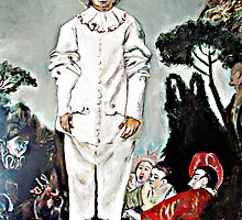 "Clown, Jean Antoine Watteau's ""Gilles as Pierrot"" by Lorry666"