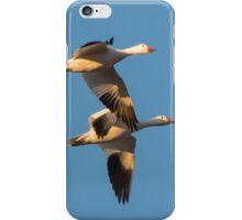 Snow Geese In Flight iPhone Case/Skin