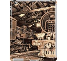 Inside the Engine Shed iPad Case/Skin