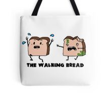 The Walking Bread Tote Bag