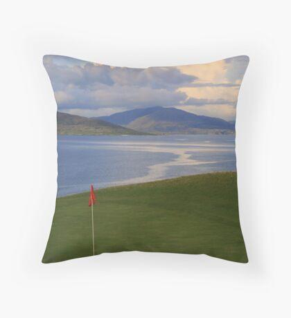 Golfers Paradise Throw Pillow