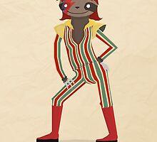 Ziggy Slothdust by Anthony Massingham