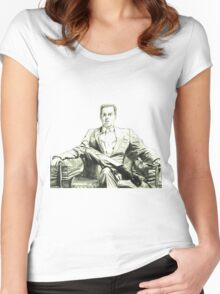 Moriarty - Andrew Scott Women's Fitted Scoop T-Shirt