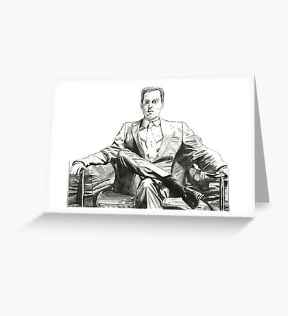 Moriarty - Andrew Scott Greeting Card