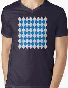 Bavaria flag Mens V-Neck T-Shirt