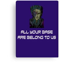 AYBABTU ~ All Your Base Are Belong To Us ~ t shirt Canvas Print
