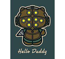 Hello Daddy Photographic Print