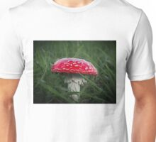 Red and White Toadstool Unisex T-Shirt