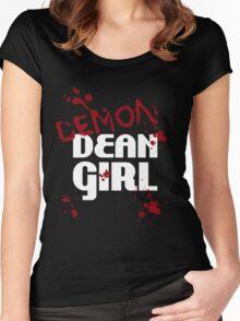 DEMON Dean Girl Women's Fitted Scoop T-Shirt
