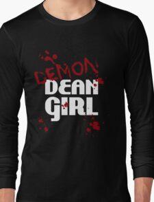 DEMON Dean Girl Long Sleeve T-Shirt