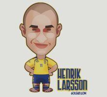 Henrik Larsson by alexsantalo