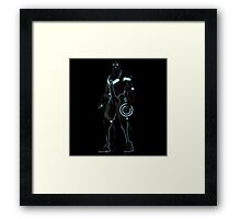 tron iron man Framed Print