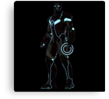 tron iron man Canvas Print