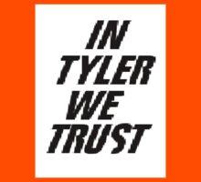 In tyler we trust Kids Tee