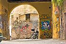 Graffiti at TRASTEVERE - ROME 2 by Paul Thompson Photography
