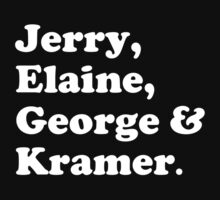 The fab four - Seinfeld by cafebunny