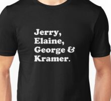 The fab four - Seinfeld Unisex T-Shirt