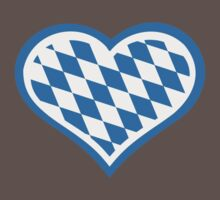 Bavarian heart One Piece - Short Sleeve