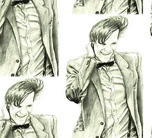 Matt Smith by Bluebelldances