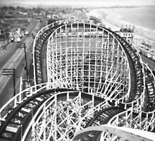 """The Cyclone"" Roller Coaster, Revere Beach - North by ngscollection"