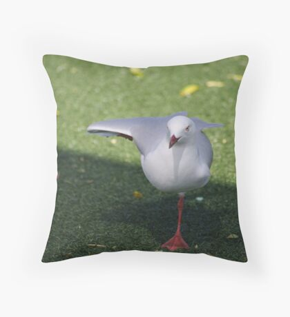 yes I have been taking ballet lessons Throw Pillow