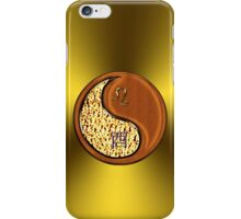 Leo & Rooster Yin Wood iPhone Case/Skin
