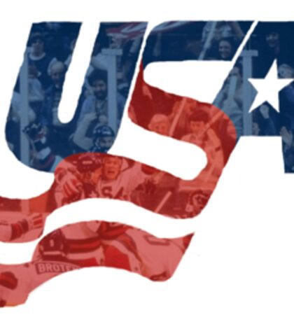 USA Hockey Miracle on Ice Sticker