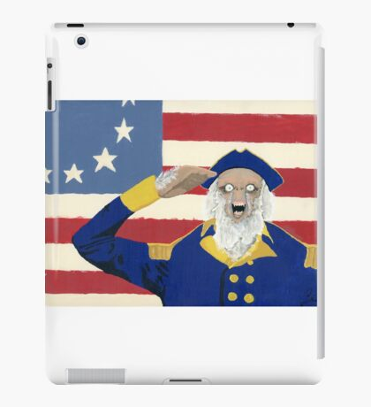 Colonial Yeti iPad Case/Skin