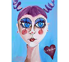 Liebchen - Sweetheart - Woman Art by Valentina Miletic Photographic Print