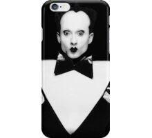 klaus nomi black iPhone Case/Skin