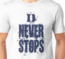 Duke Never Stops Unisex T-Shirt