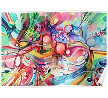 Nice Clowns You Got There - Watercolor Painting Poster