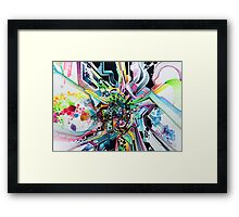 Technicavity - Watercolor Painting Framed Print